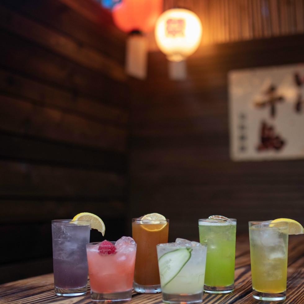 Domo Alley-Gato drinks