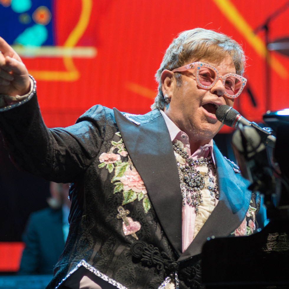 Elton John - Houston Toyota Center - Farewell Yellow Brick