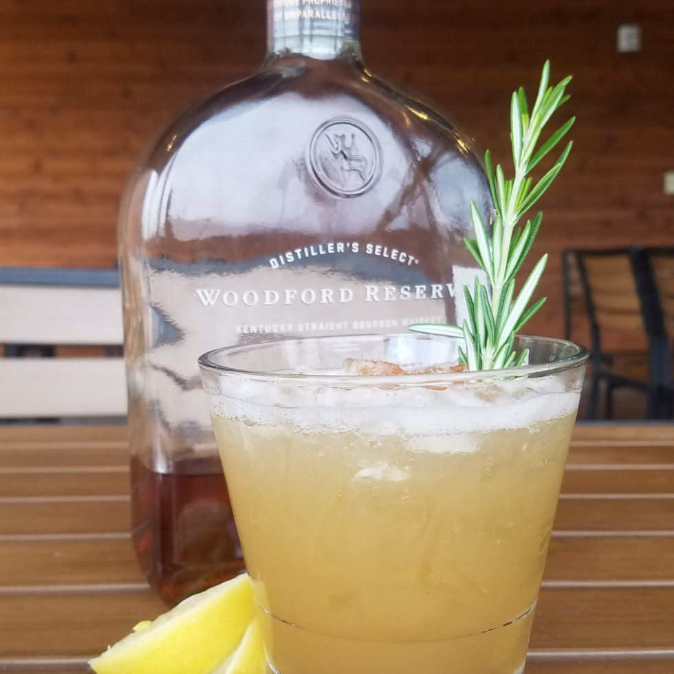 Maple Whiskey Sour cocktail