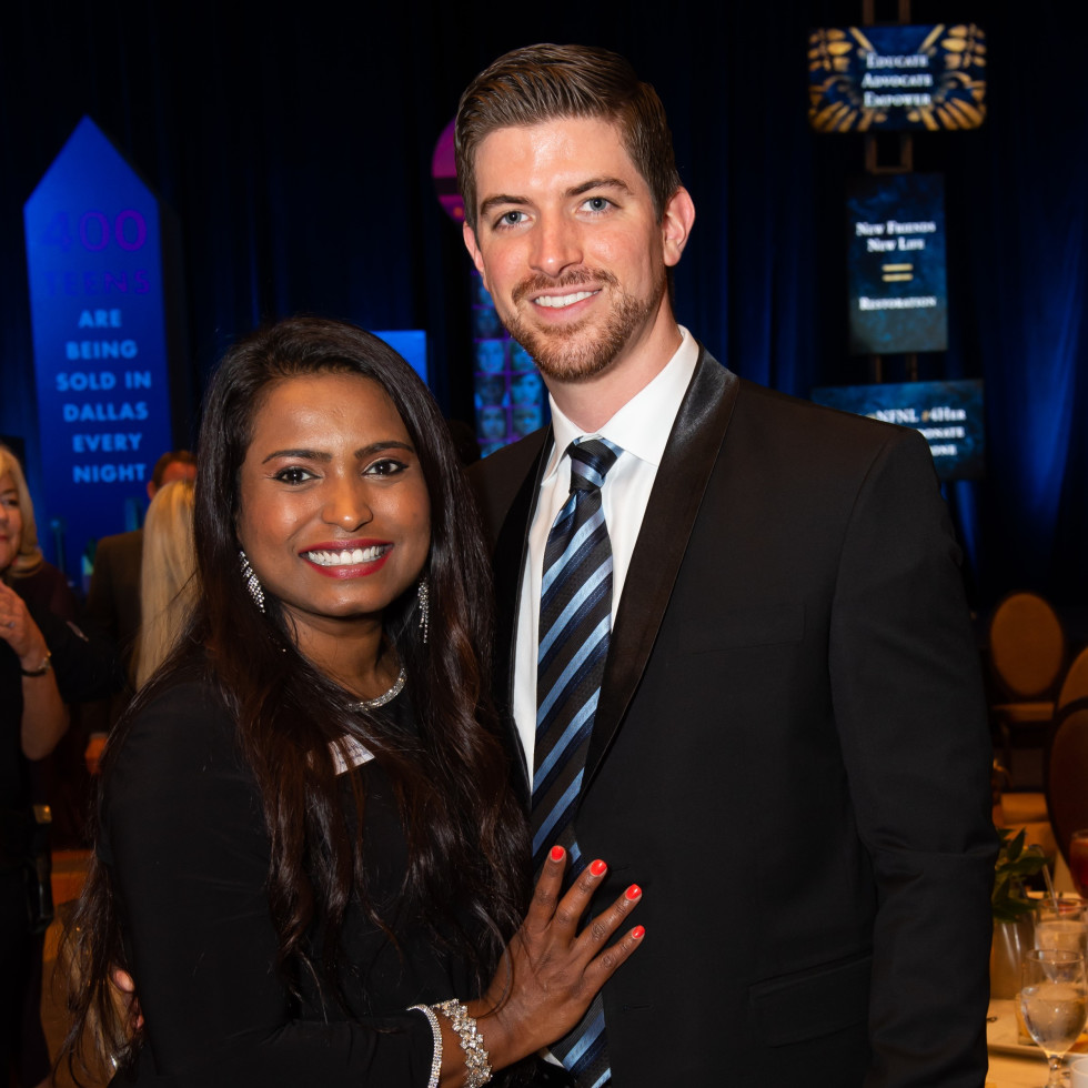 Priya Murphy and Daniel Murphy