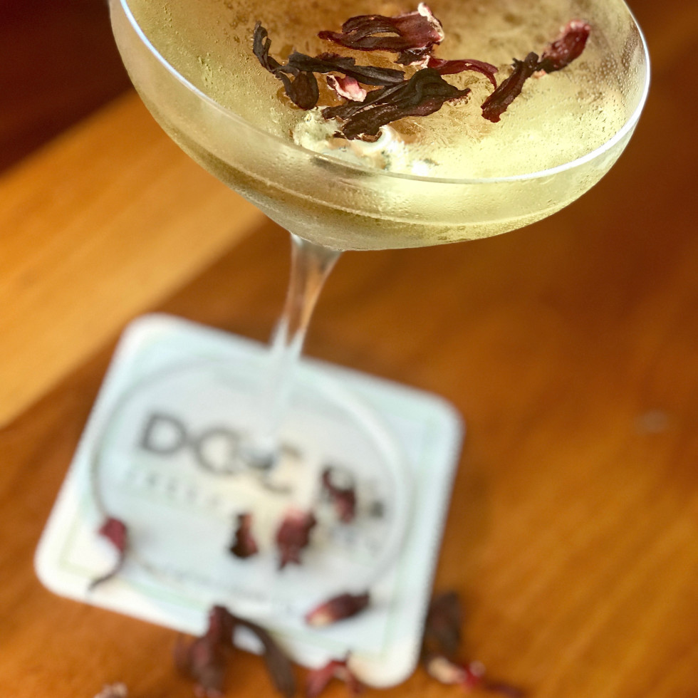 Crazy Beautiful cocktail, Doc B's