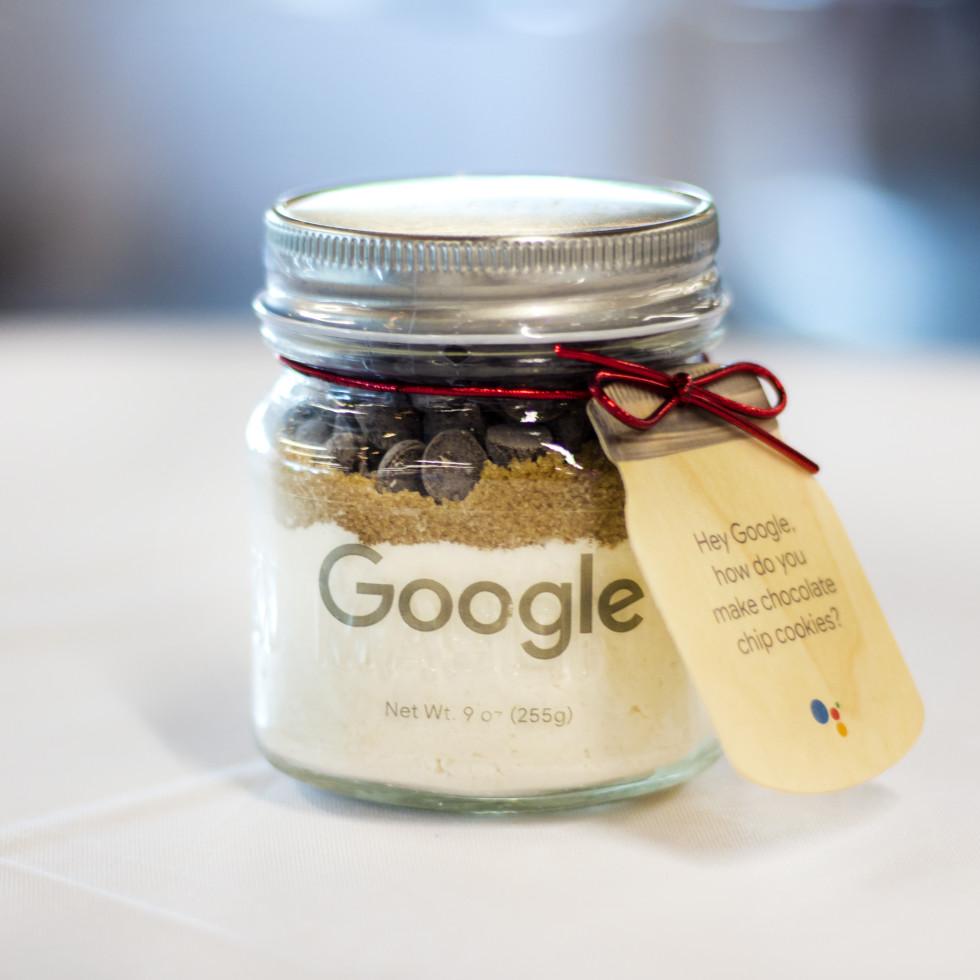 Google cookies in a jar
