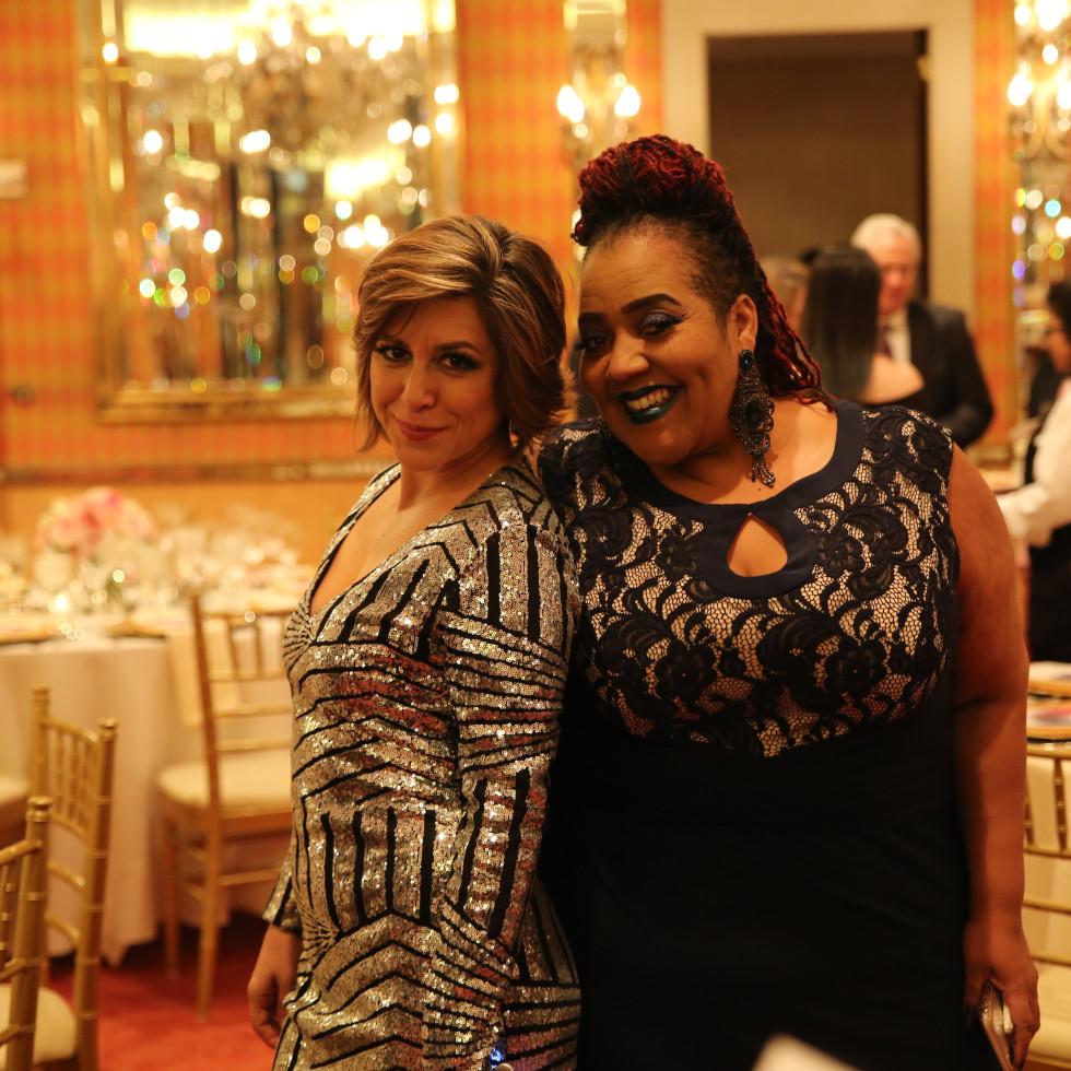 Paulina Magdaleno and Sheran Keyton
