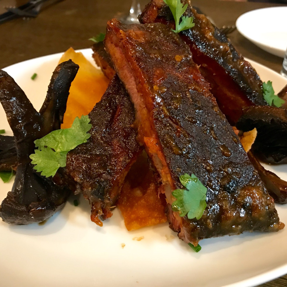 Elliot's Table Thai sticky ribs
