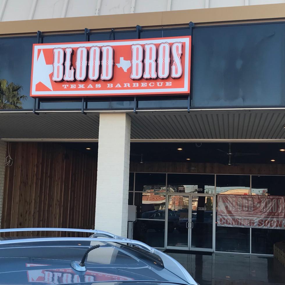 Blood Bros BBQ Bellaire exterior