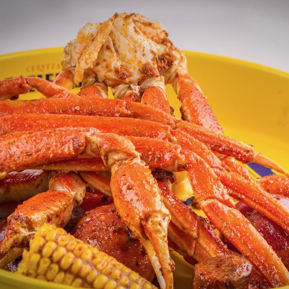 Shell Shack crab legs
