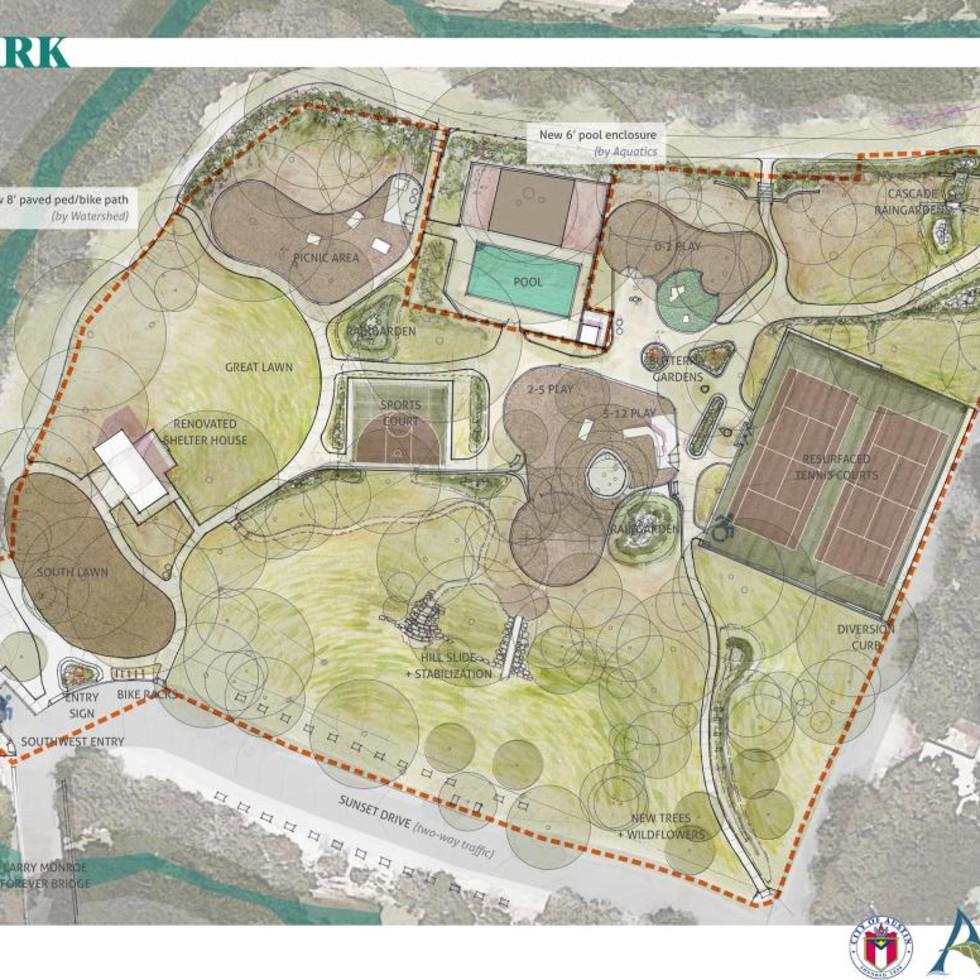 Little Stacy Park renovation plans project