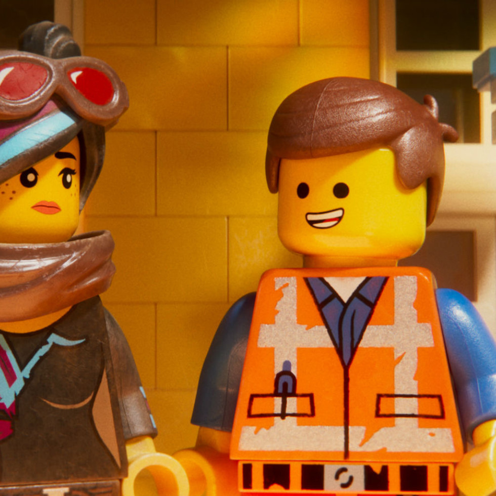 Wyldstyle (Elizabeth Banks) and Emmet (Chris Pratt) in The LEGO Movie 2: The Second Part