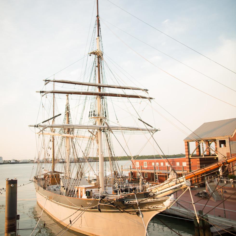 Tall Ship Elissa