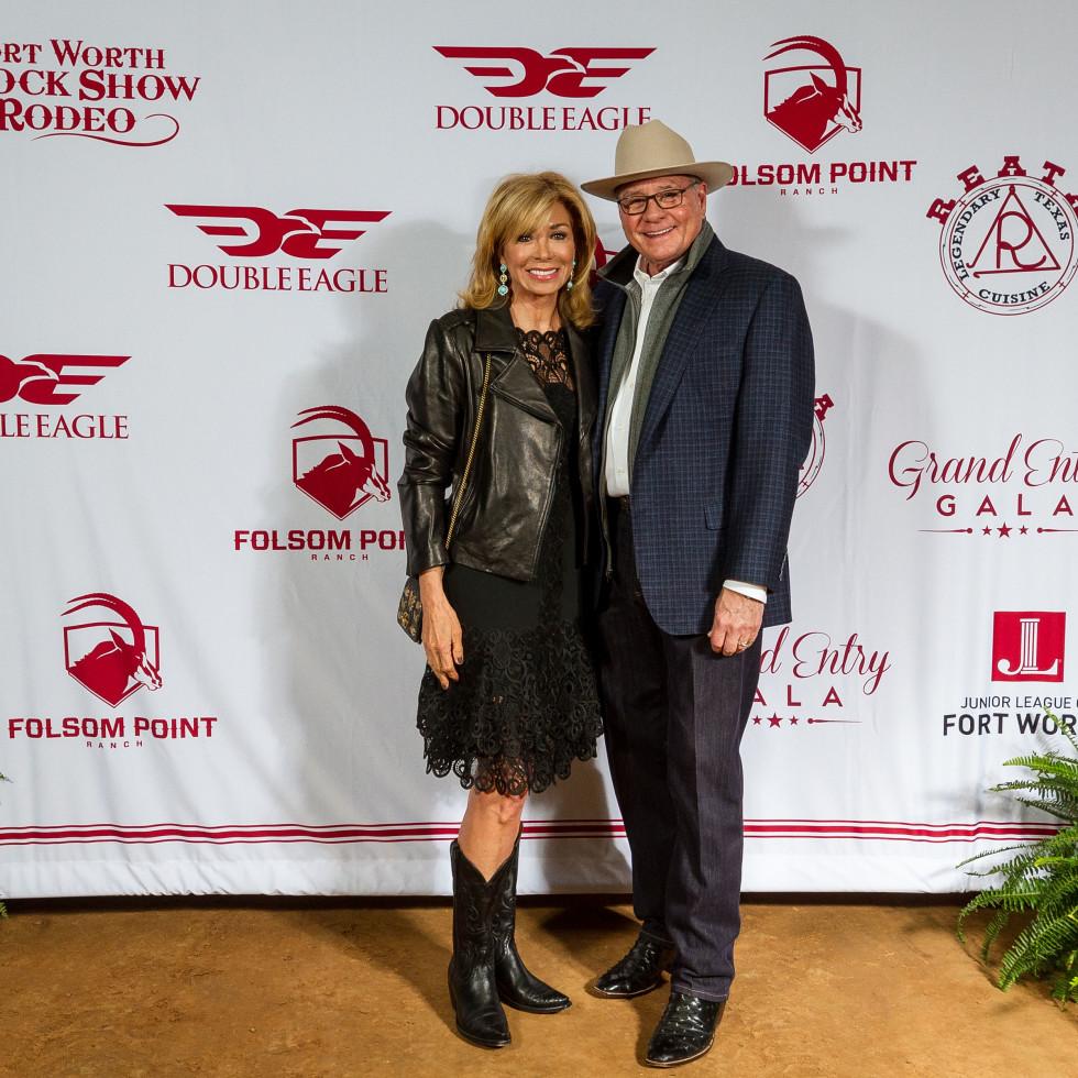 Fort Worth Stock Show Grand Entry Gala Olivia Kearney and Jeff Kearney