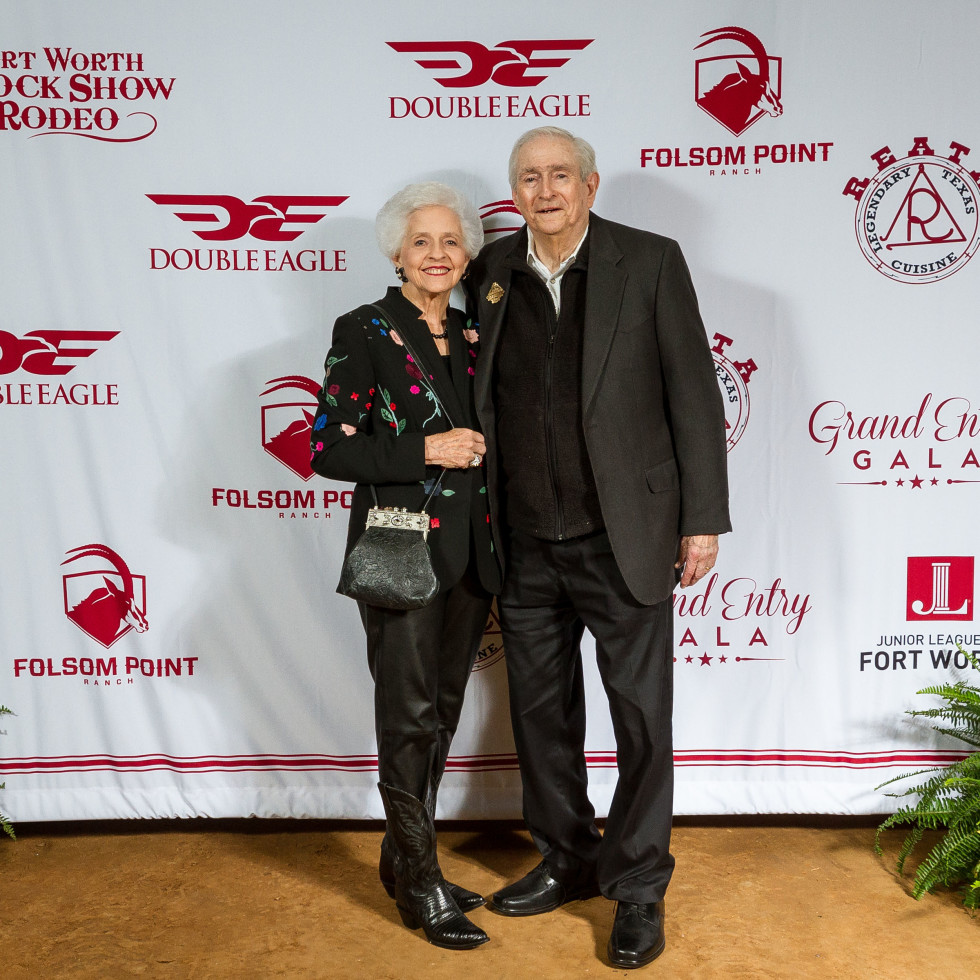 Fort Worth Stock Show Grand Entry Gala Jean Roach and John Roach
