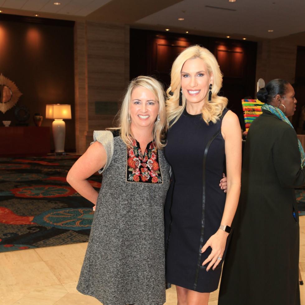 Amy Desler and Pennie Marshall
