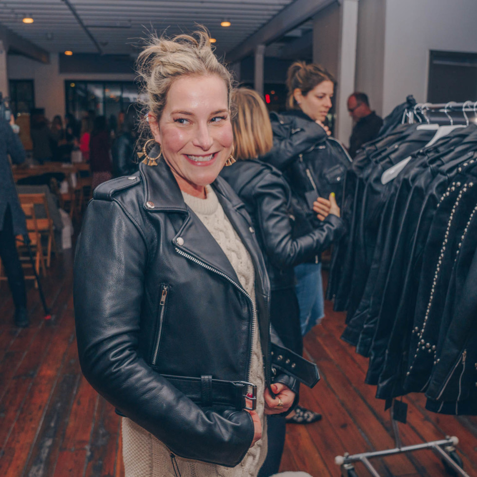 Bumble Understated Leather The Kindness Campaign VIP Event at Antone's Upstairs Elana Schulman