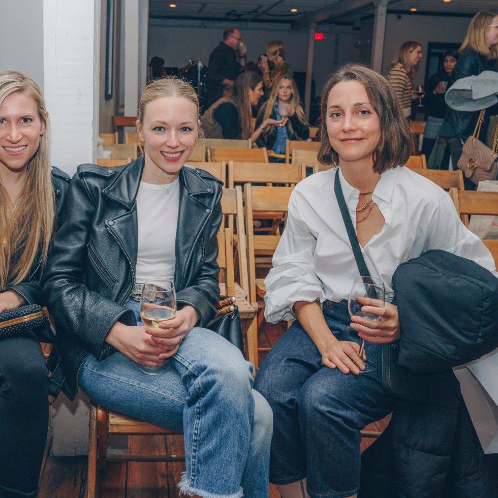 Bumble Understated Leather The Kindness Campaign VIP Event at Antone's Upstairs Marni Eth Brigitte Sharp Ana Davidson