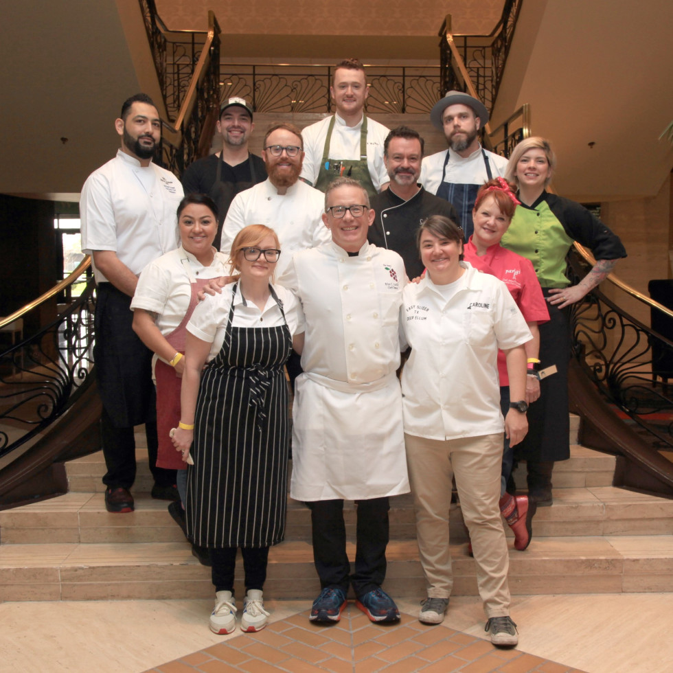 Stewpot Soup's On luncheon 2019 chefs