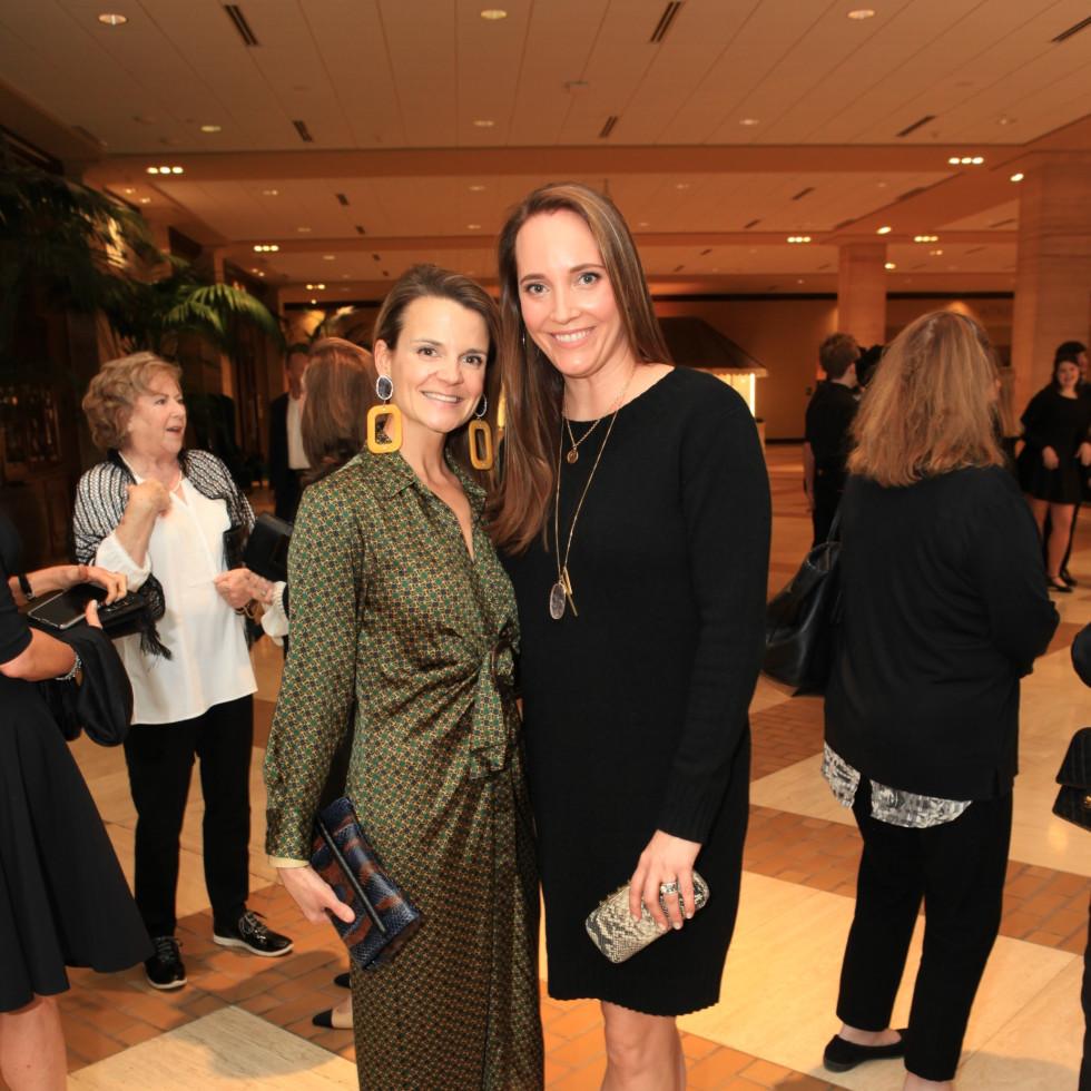 Elise Riter and Katie Kelton