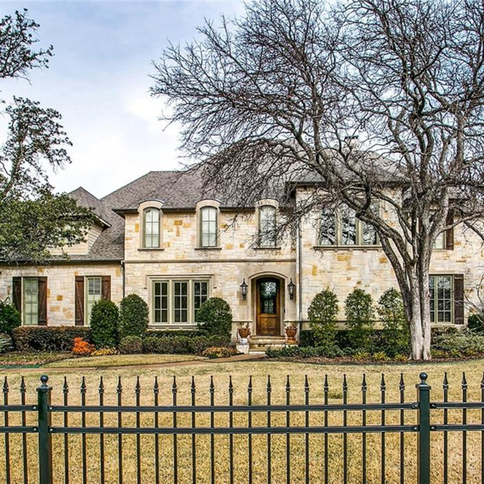 Adrian Beltre home, 4311 Brookview Dr, Preston Hollow