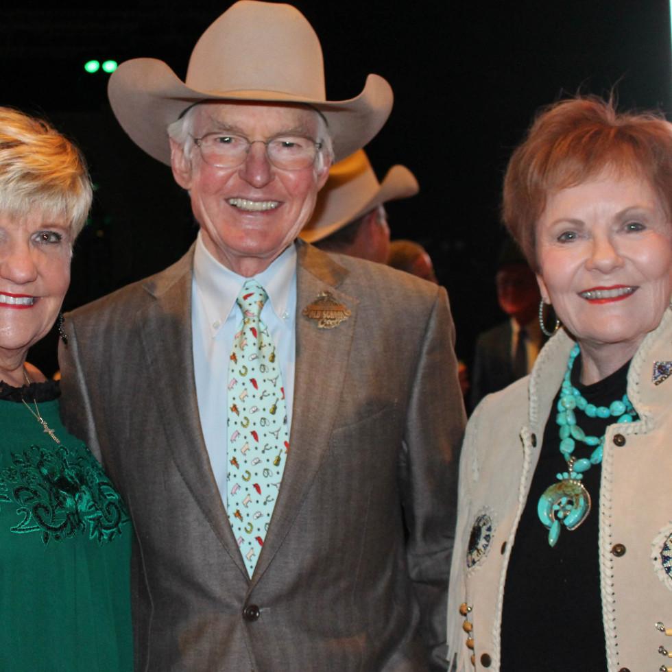 Fort Worth Stock Show Grand Entry Gala Mayor Betsy Price, Ed Bass, Congresswoman Kay Granger