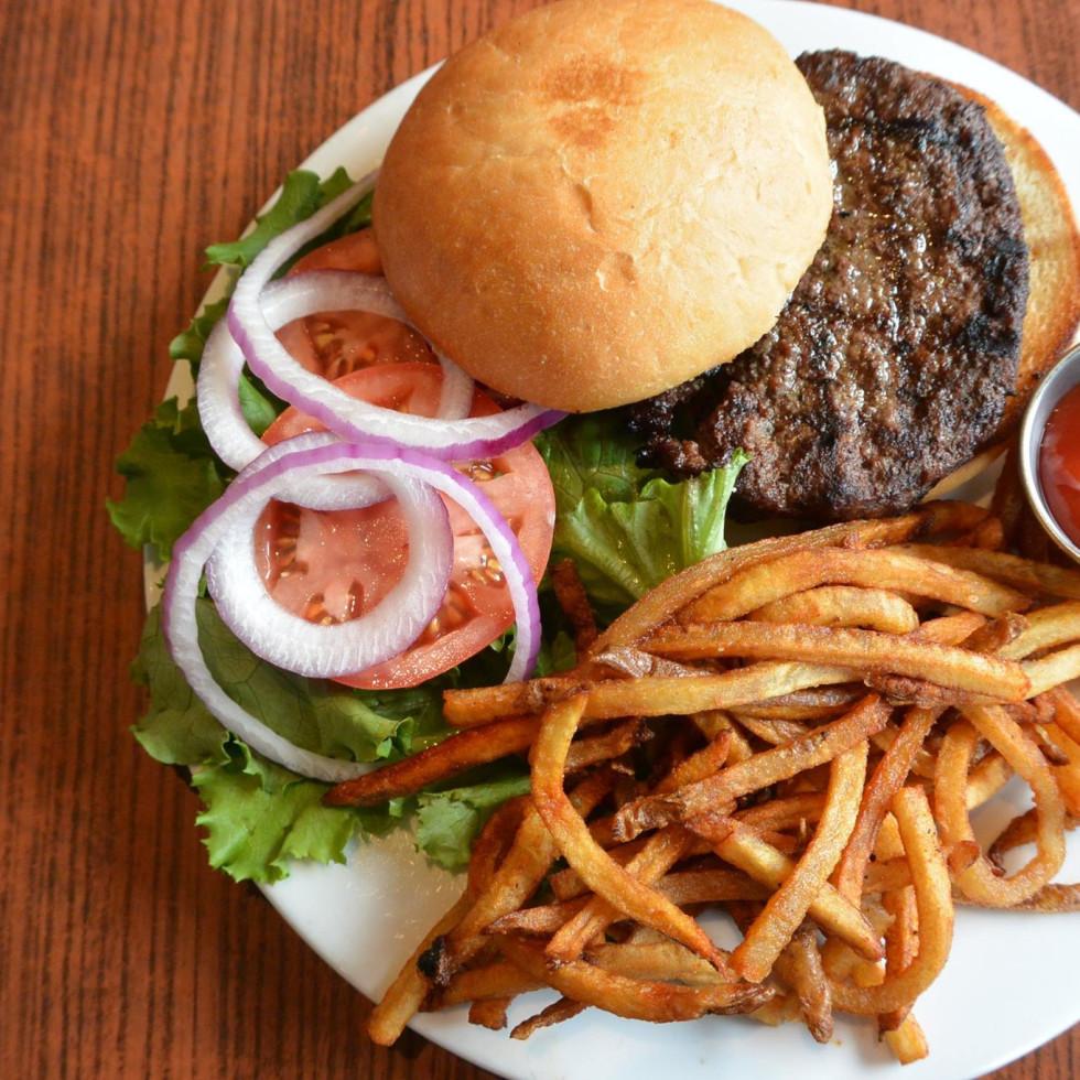 Blue Star Kitchen burger