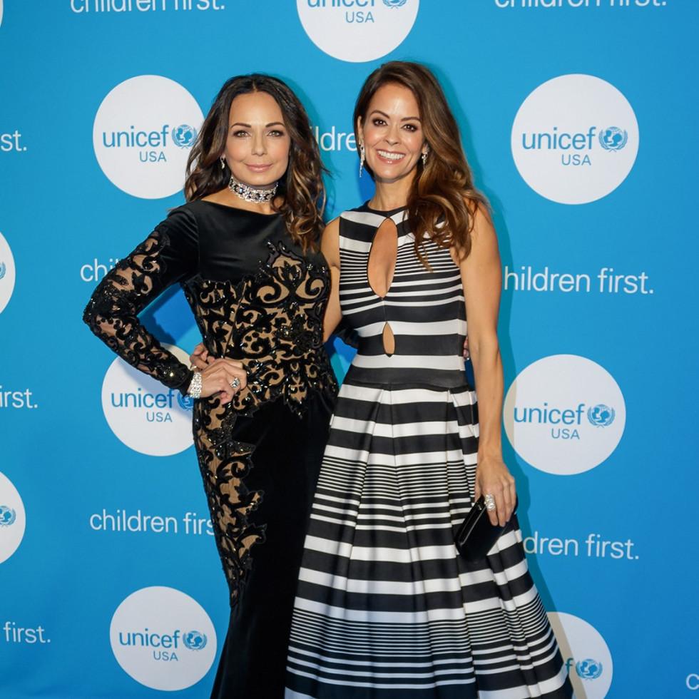 Moll Anderson, Brooke Burke, Unicef Gala