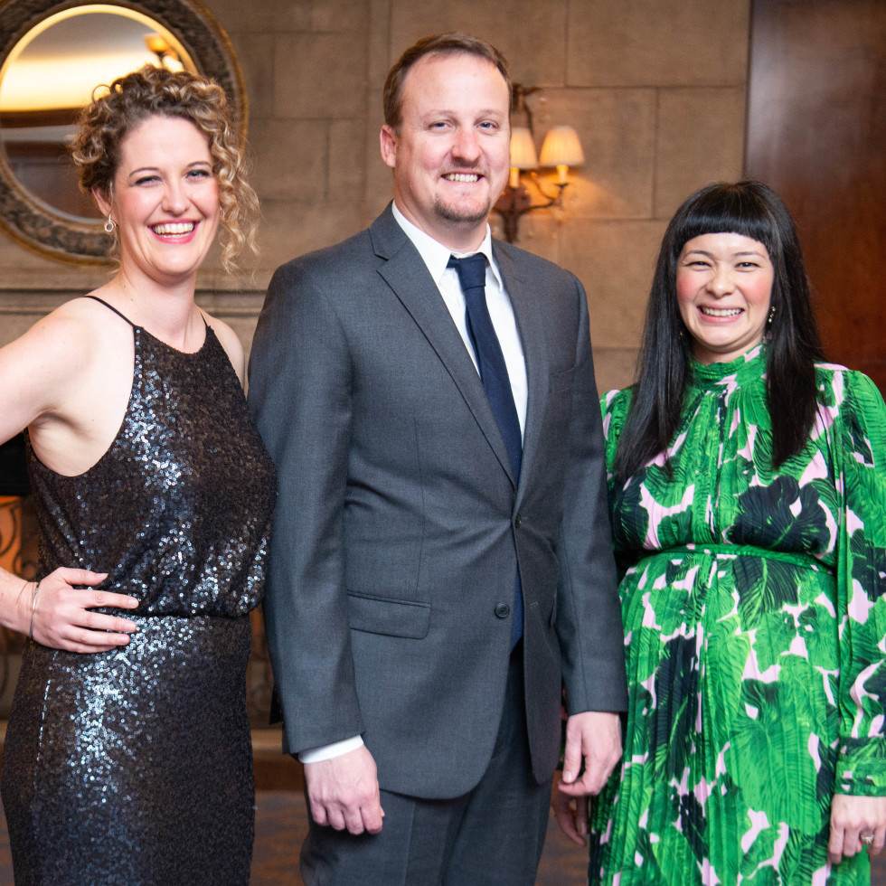 Inprint Poets & Writers Gala 2019: essica Wilbanks, Henk Rossouw, Thea Lim