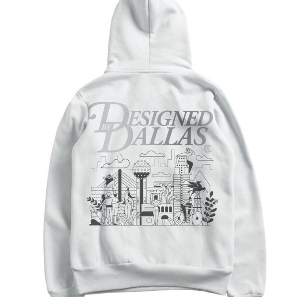 Centre Designed by Dallas hoodie