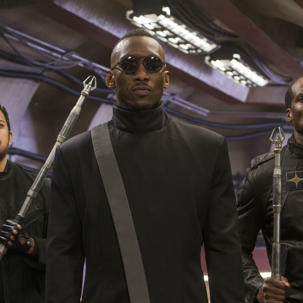 Mahershala Ali in Alita: Battle Angel