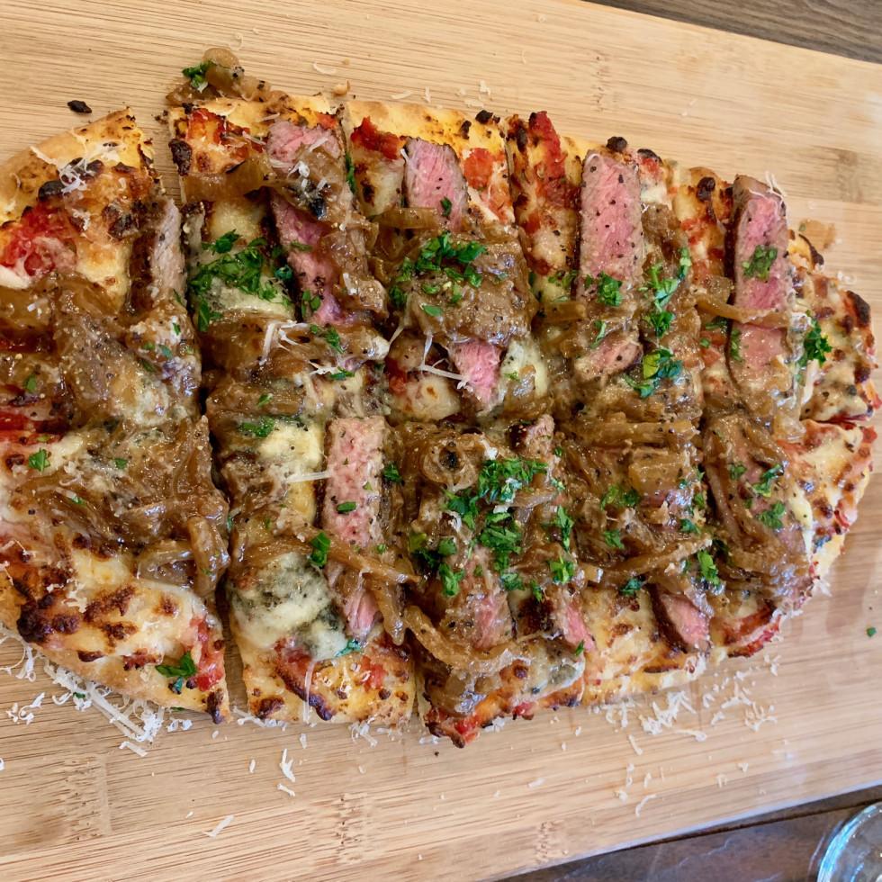 2840 at Dukessa NY strip flatbread