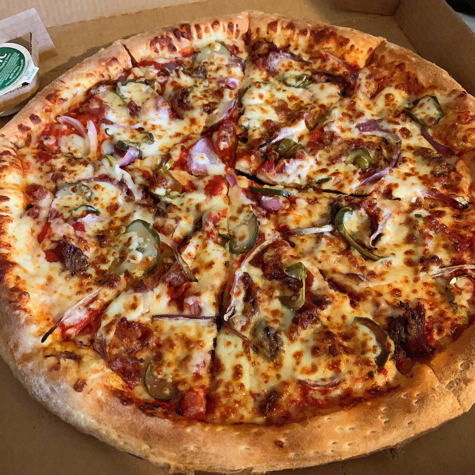 Papa John's Killen's Barbecue brisket pizza delivery