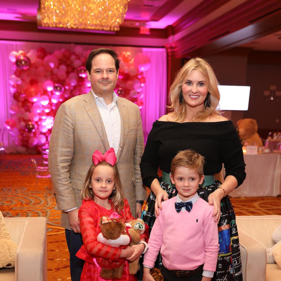 Houston Ultimate Teddy Bear Tea Party St. Regis Children's Memorial Hermann