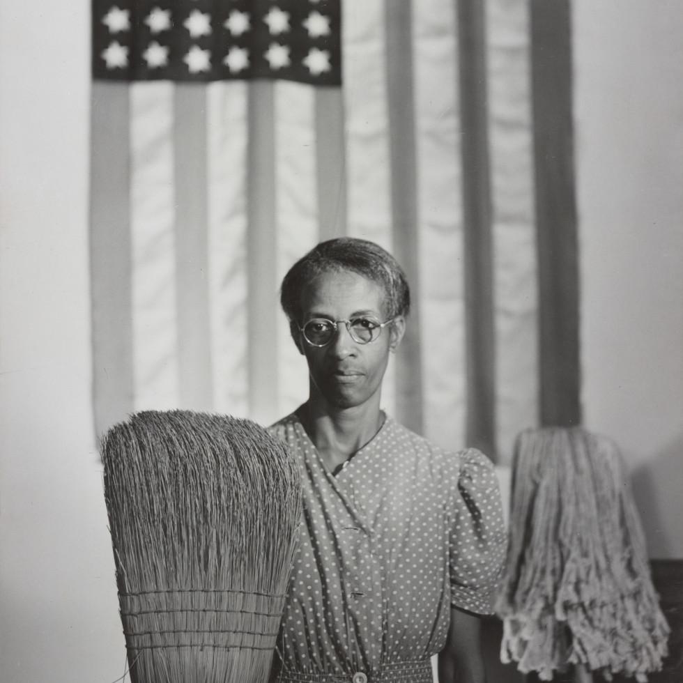 Washington, D.C. Government charwoman Gordon Parks (1912-2006)