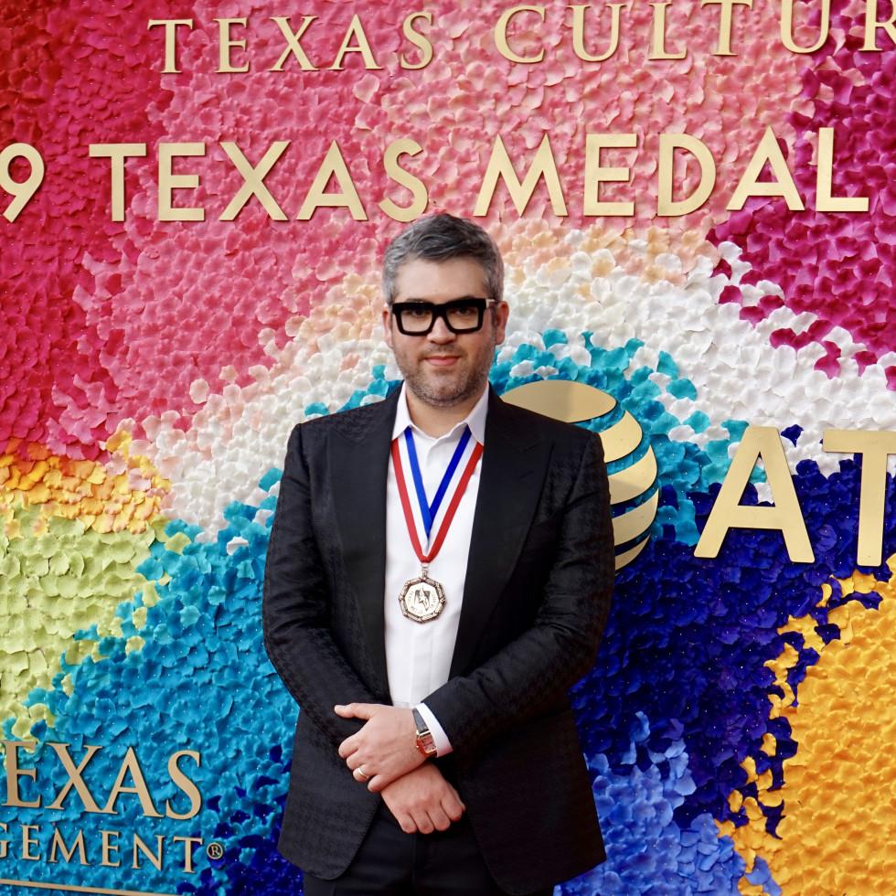 2019 Texas Medal of Art Awards Brandon Maxwell
