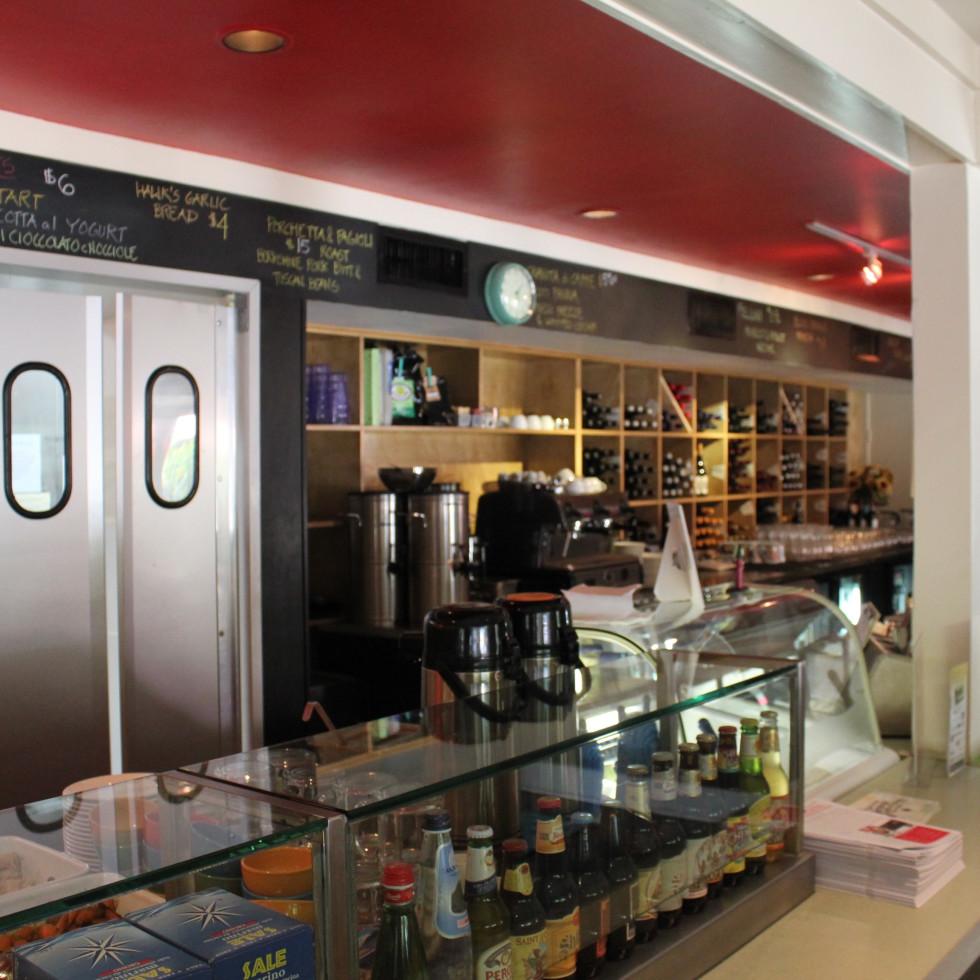 Giacomo's Restaurant, Interior, June 2012
