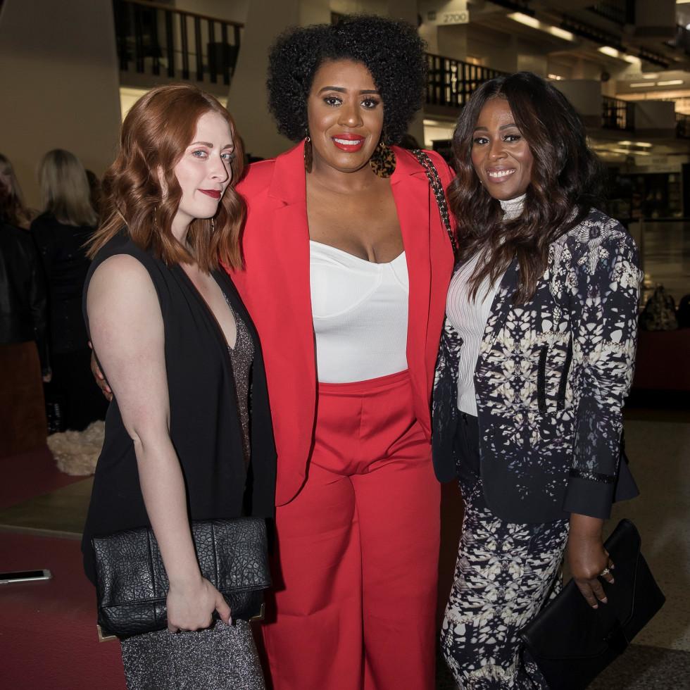 - Amber LaFrance (FGI of Dallas Board Member), Shantaquilette Carter-Williams, and Kim Olusanya-Stephens