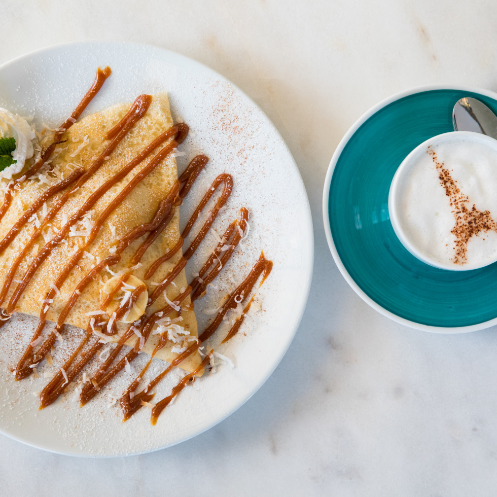 Sweet Paris Creperie toasted bueno crepe