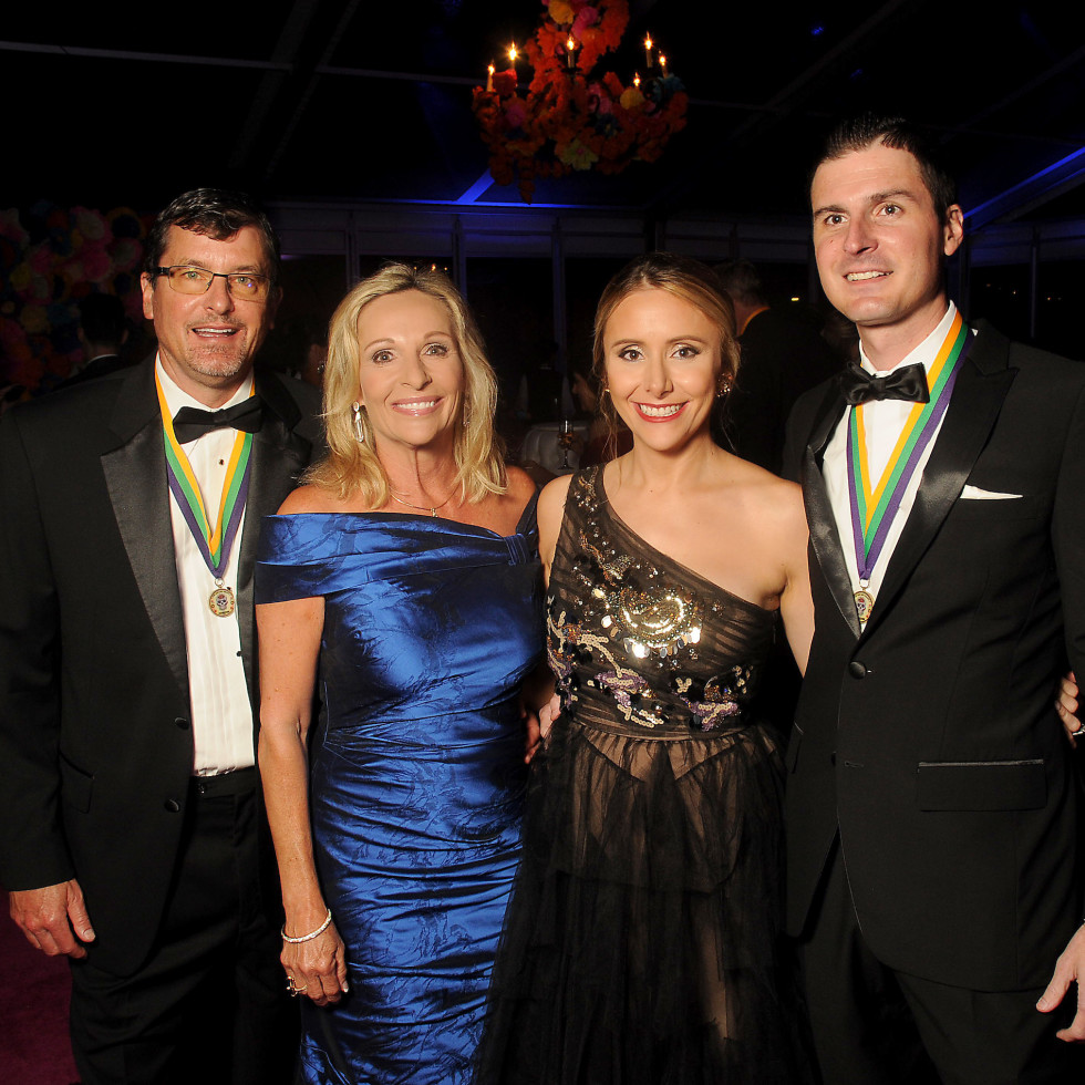 David and Allison Doyle, Jessica and Brian Burkhart