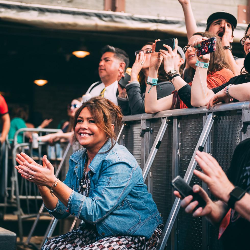 Rachael Ray at Feedback Festival