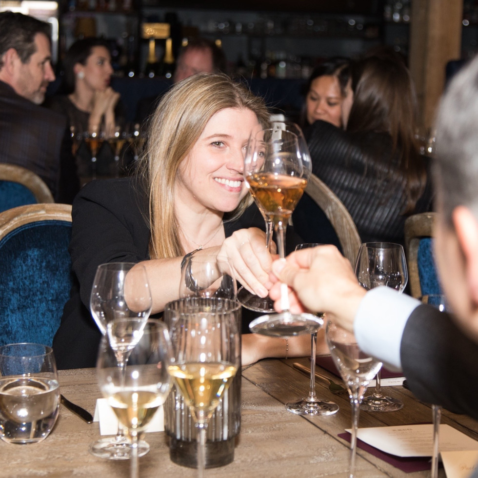 Krug Dinner Goodnight Charlie's Lorella & Paolo Berard