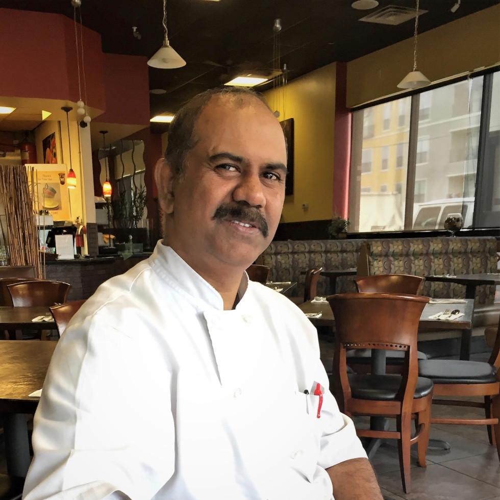Verandah Progressive Indian Restaurant Sunil Srivastava