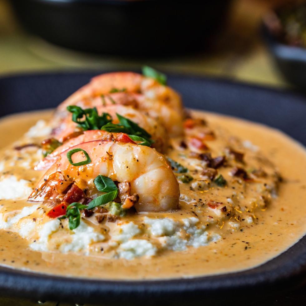 Taste Bar + Kitchen shrimp and grits