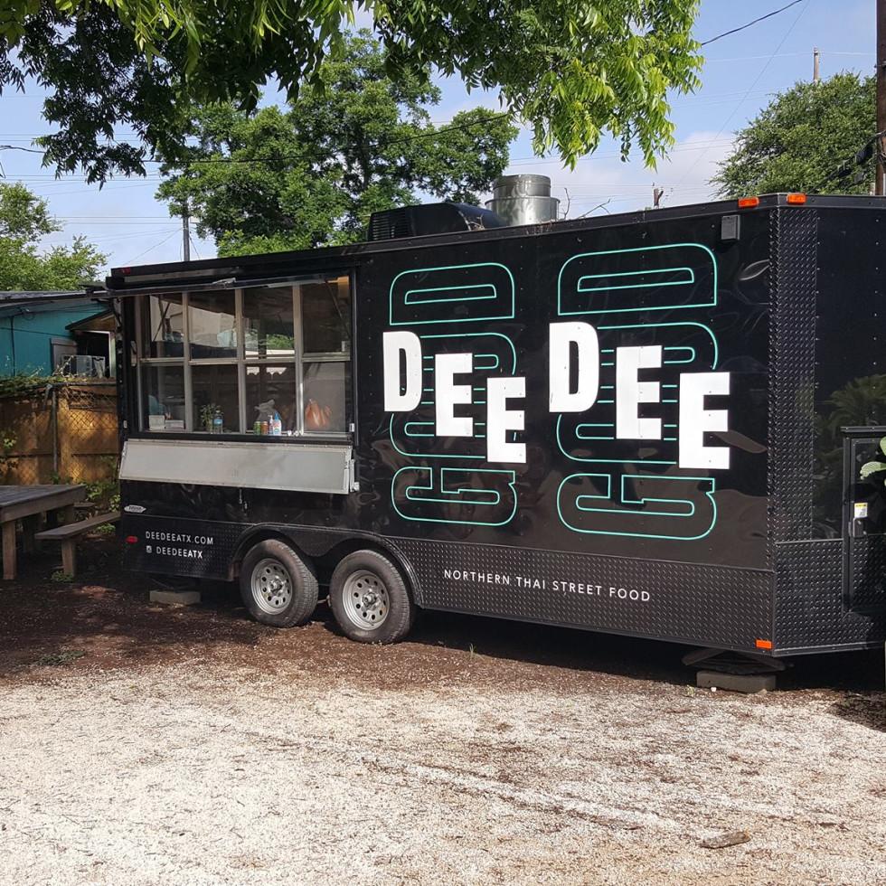 Dee Dee Austin truck