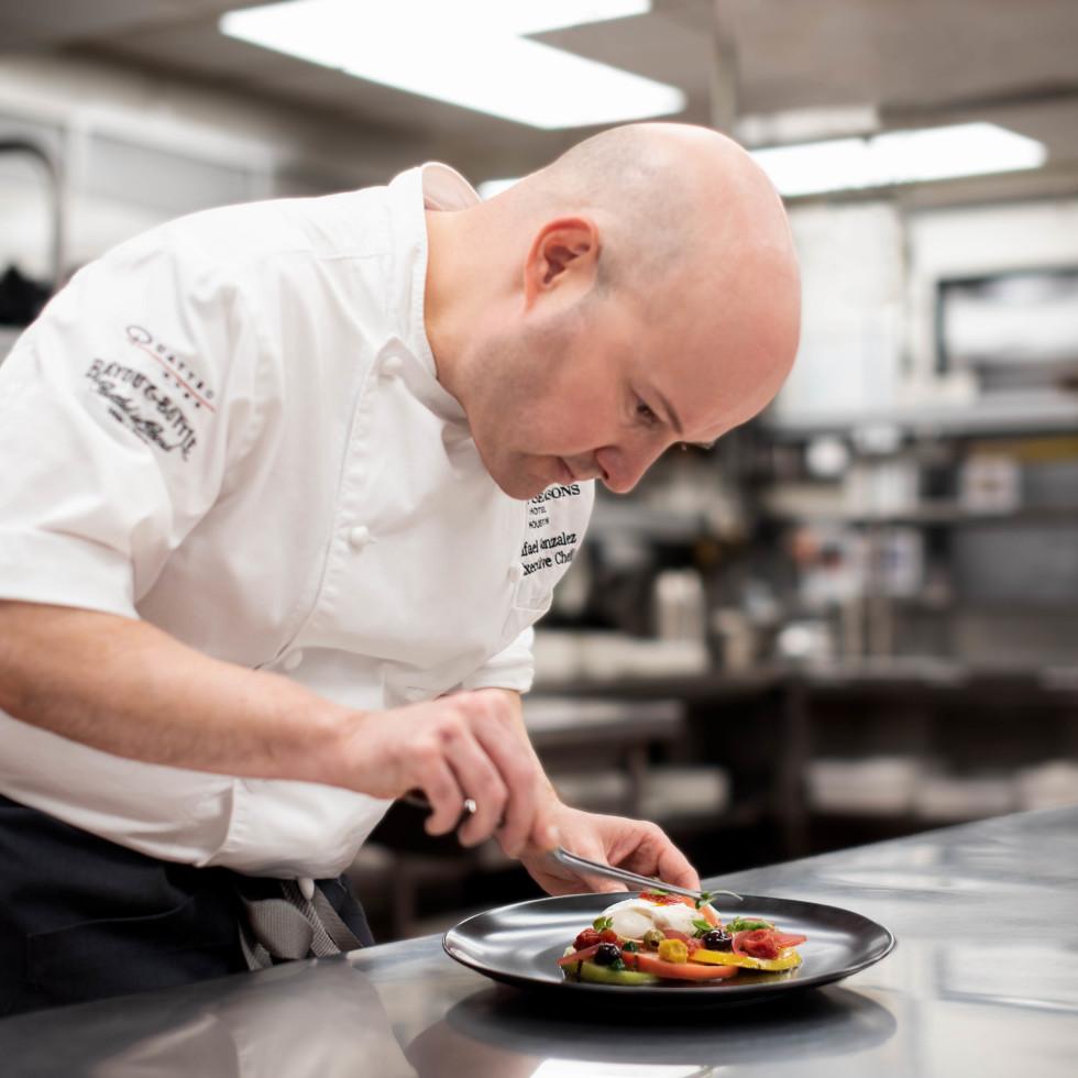 Chef Rafael Gonzalez of Quattro