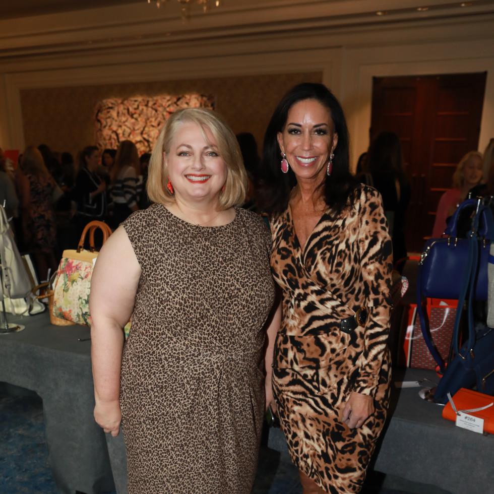 Julie Siegel and Jocelyn White