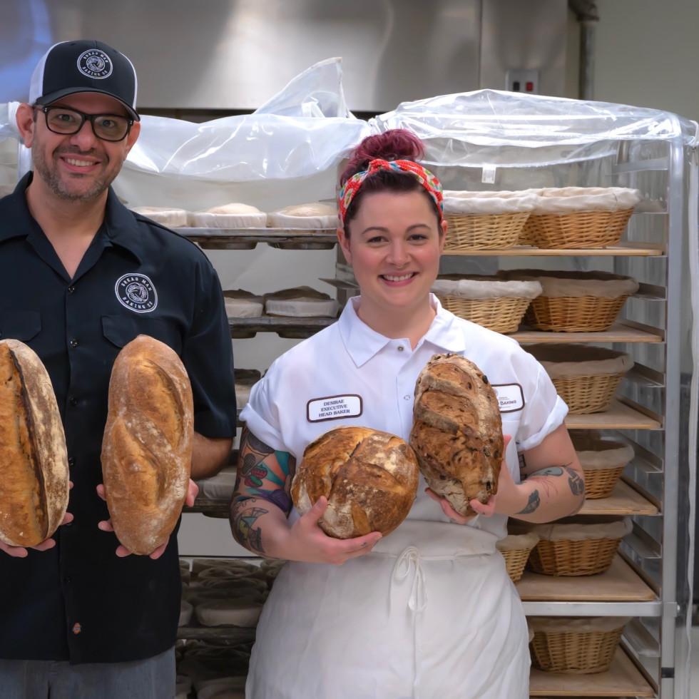Bread Man Baking Company Tasos Katsaounis Desiare (Desi) Vasquez