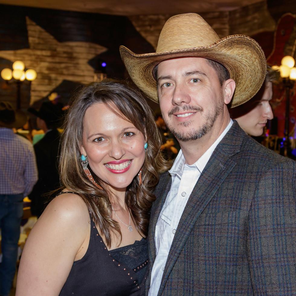 Angela Henderson, Jason James