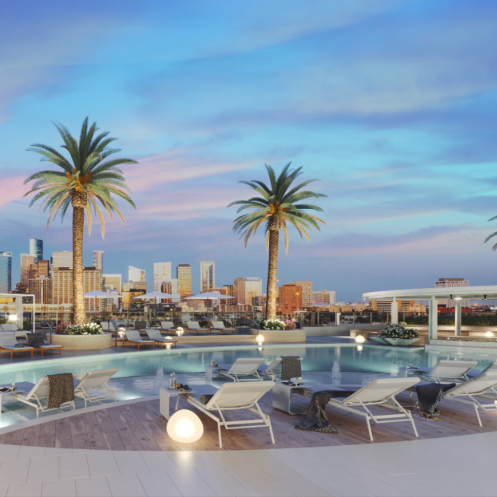Midtown's first residential tower soars with new name, amenities, and massive pool deck