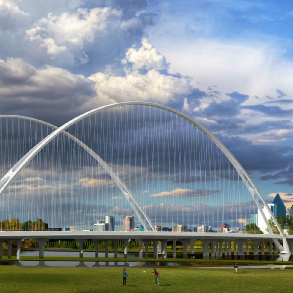 Calatrava Margaret McDermott bridge