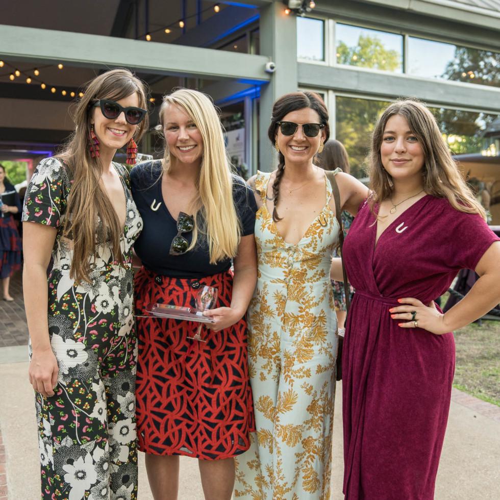 Umlauf Garden Party 2019 Katy Gelhausen Allie Wester Liz Novak Kristen Hubby