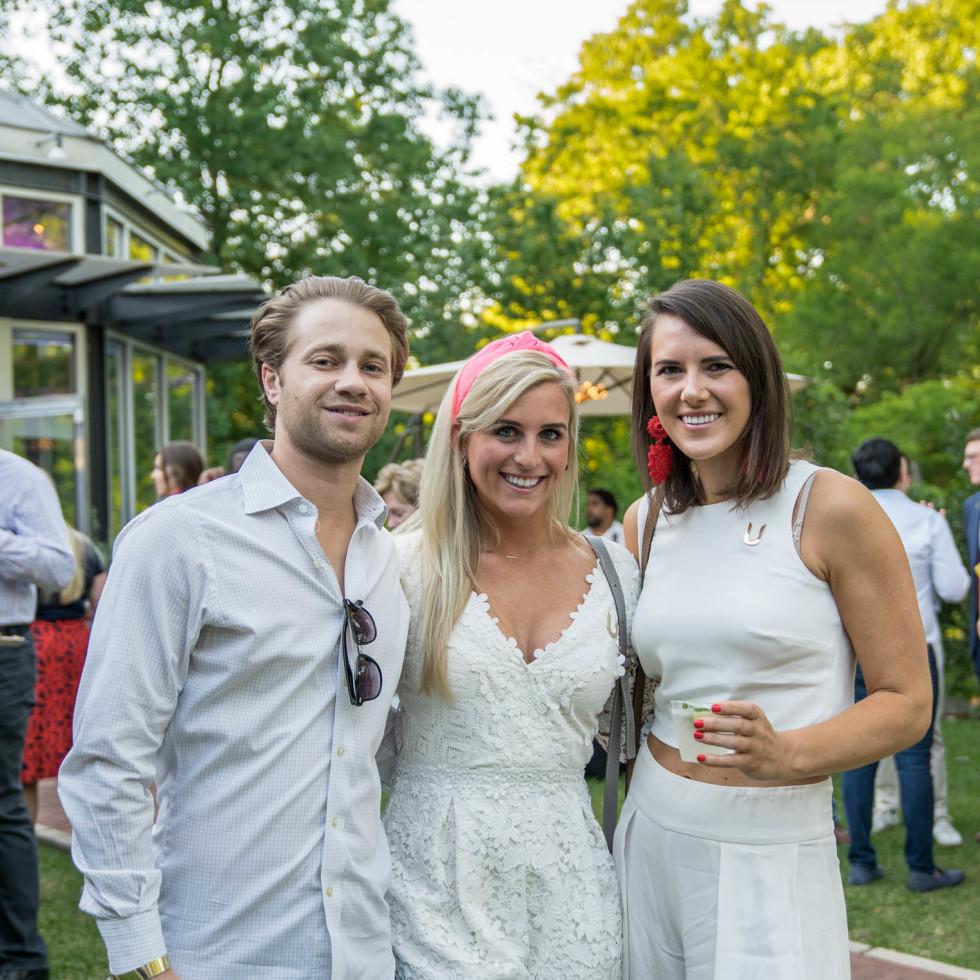 Umlauf Garden Party 2019 Ryan Ambrose Katherine Bible Lauren Schuyler