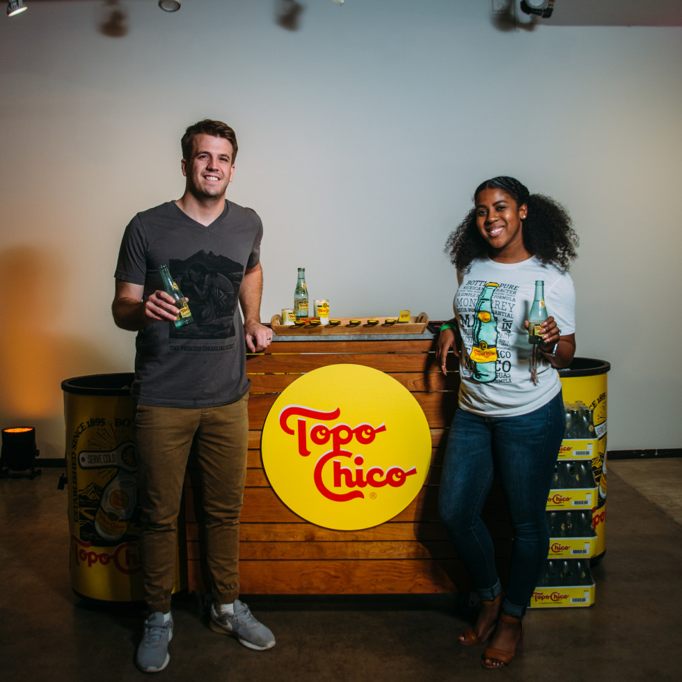 Topo Chico Hydration Station